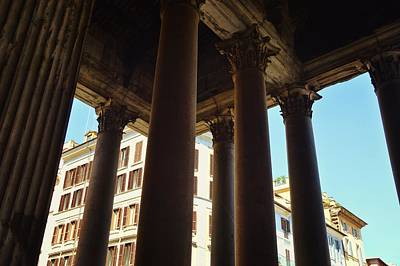 Photograph - Portico View by JAMART Photography