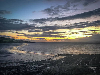 Photograph - Portishead Sunset by Lee Harris