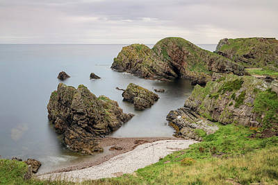 Cullen Wall Art - Photograph - Portknockie - Scotland by Joana Kruse