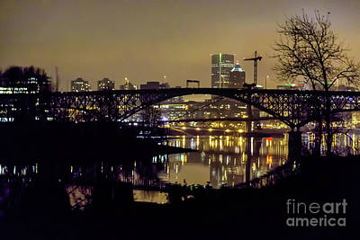 Photograph - Portland At Night by Jon Burch Photography