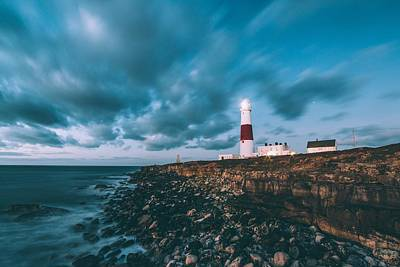 Photograph - Portland Bill Dorset by Joy of Life Art Gallery
