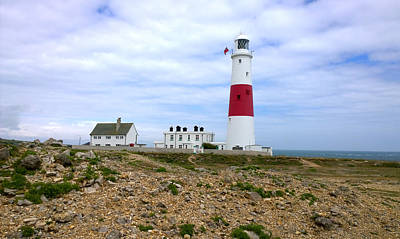 Photograph - Portland Bill Lighthouse by Gillian Dernie