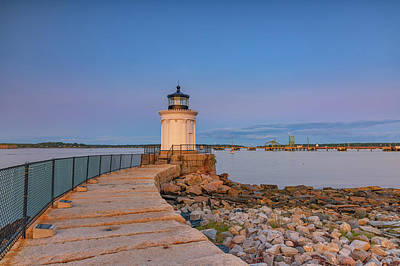 Photograph - Portland Breakwater Light by Rick Berk