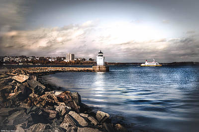 Photograph - Portland Bug Light by Debra Forand