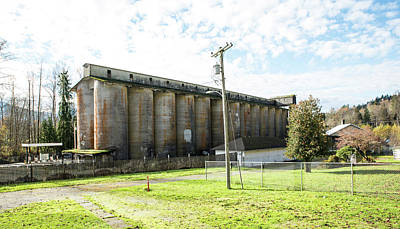 Photograph - Portland Cement Company Silos by Tom Cochran