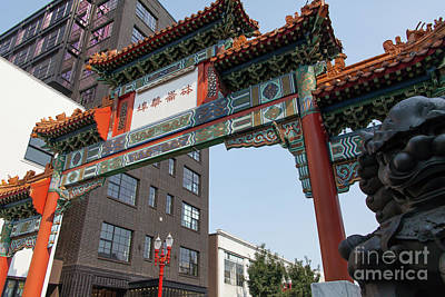 Photograph - Portland Chinatown Portland Oregon 5d3445 by Wingsdomain Art and Photography