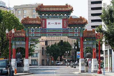 Photograph - Portland Chinatown Portland Oregon 5d3475 by Wingsdomain Art and Photography