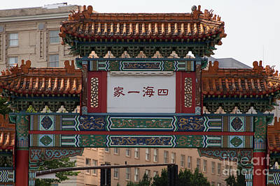 Photograph - Portland Chinatown Portland Oregon 5d3476 by Wingsdomain Art and Photography
