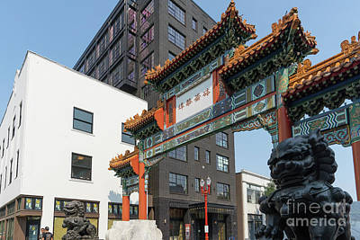 Photograph - Portland Chinatown Portland Oregon Dsc6453 by Wingsdomain Art and Photography