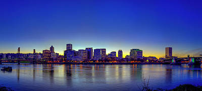 Photograph - Portland Cityscape by Ken Aaron