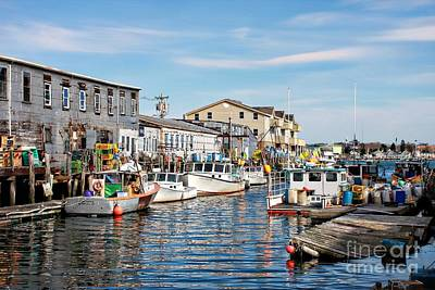 Photograph - Portland Harbor Boats by Marcia Lee Jones