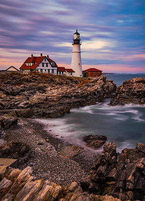 Portland Lighthouse Photograph - Portland Head by Darren White