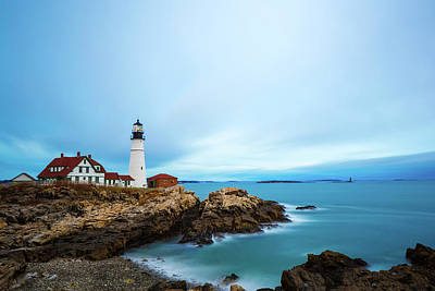 Photograph - Portland Head Light 1 by Brian Hale