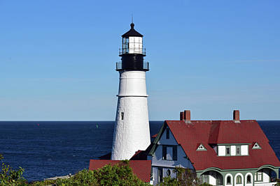 Photograph - Portland Head Light No. 103 by Sandy Taylor