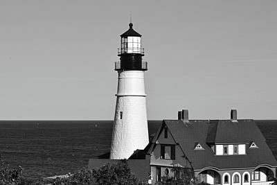 Photograph - Portland Head Light No. 103-1 by Sandy Taylor