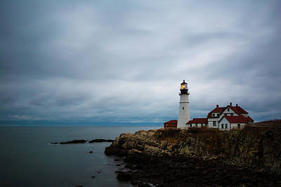 Photograph - Portland Head Light 2 by Brian Hale