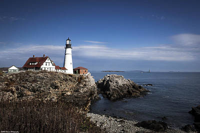 Photograph - Portland Head Light 2  by Debra Forand