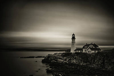 Photograph - Portland Head Light 3 by Brian Hale