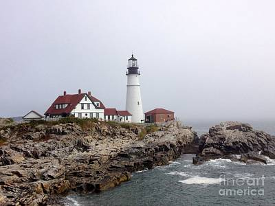 Photograph - Portland Head Light by Barbara Von Pagel
