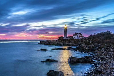 Photograph - Portland Head Light by Bryan Xavier