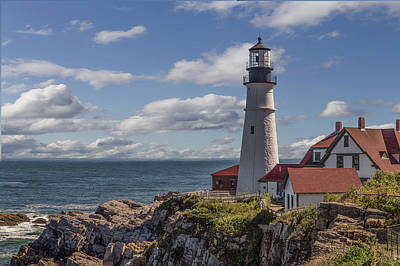 Portland Head Light Art Print by Capt Gerry Hare