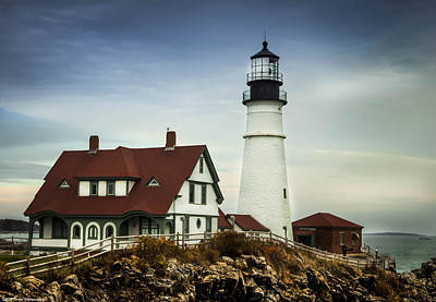 Photograph - Portland Head Light by Debra Forand