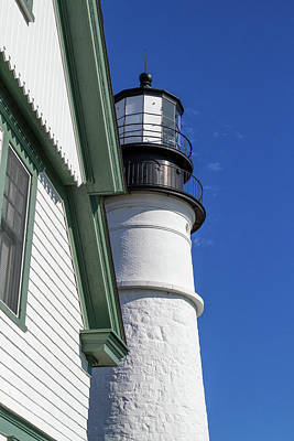 Photograph - Portland Head Light Detail by Arthur Dodd