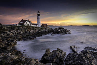 Photograph - Portland Head Light by Fred LeBlanc