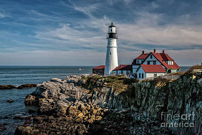 Photograph - Portland Head Light by Gene Healy