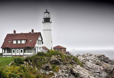 Portland Head Light - Maine Art Print