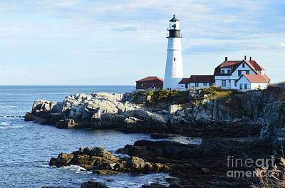 Photograph - Portland Head Light by Michelle Welles