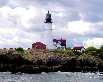 Photograph - Portland Head Light by Patricia E Sundik