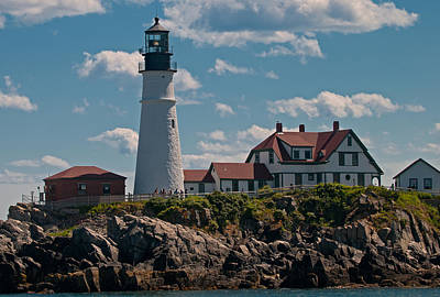 Photograph - Portland Head Light by Paul Mangold