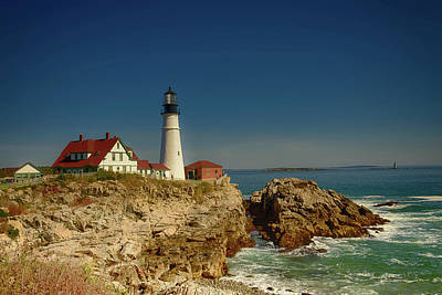Portland Head Lighthouse 2 Art Print by Sherman Perry