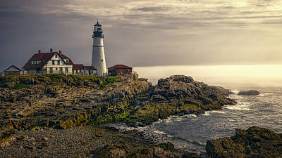 Portland Lighthouse Photograph - Portland Head Lighthouse 2014 by Joan Carroll
