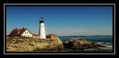 Portland Head Lighthouse 7 Art Print by Sherman Perry