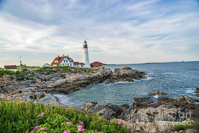 Photograph - Portland Head Lighthouse by Cathy Donohoue