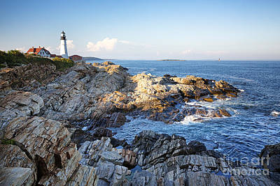 Portland Head Lighthouse Art Print by Jane Rix