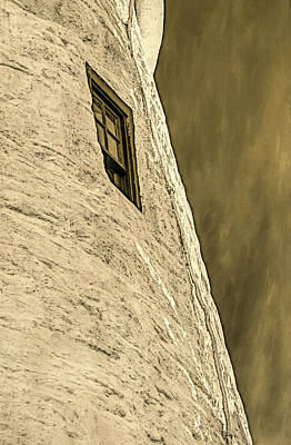 Photograph - Portland Head Lighthouse Window Detail by David Smith