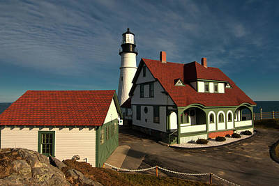 Photograph - Portland Head  by Paul Mangold