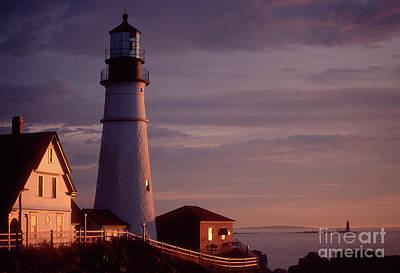 Photograph - Portland Headlight 3, Maine2 by Tibor Vari