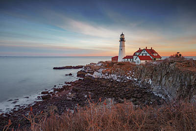Photograph - Portland Headlight by David Hufstader