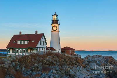 Photograph - Portland Headlight V by Sharon Seaward
