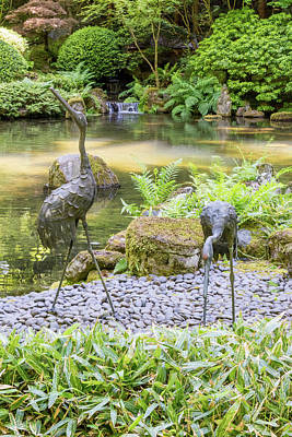 Photograph - Portland Japanese Garden 2 by Willie Harper