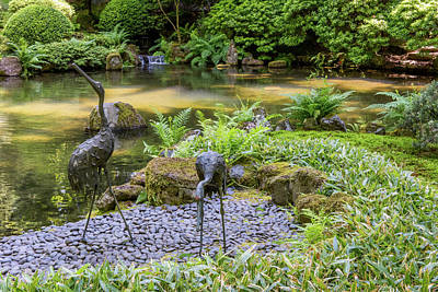 Photograph - Portland Japanese Garden 3 by Willie Harper