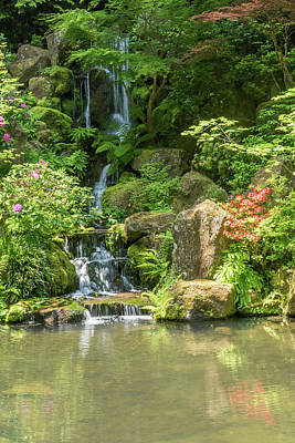 Photograph - Portland Japanese Garden 4 by Willie Harper