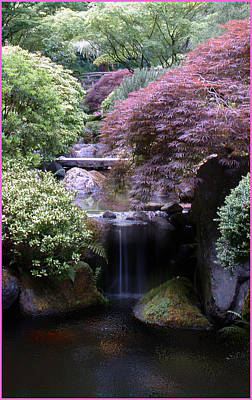 Portland Japanese Garden Art Print