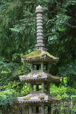 Photograph - Portland Japanese Garden Portland Oregon 5d3796 by Wingsdomain Art and Photography