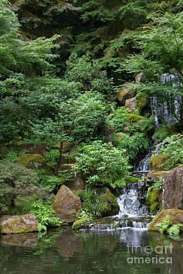 Photograph - Portland Japanese Garden Portland Oregon 5d3820 by Wingsdomain Art and Photography