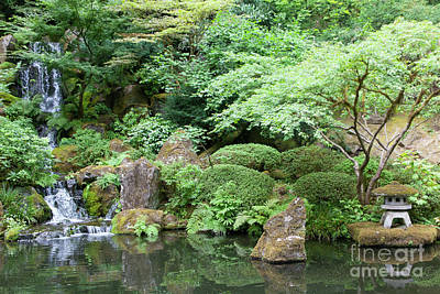 Photograph - Portland Japanese Garden Portland Oregon 5d3824 by Wingsdomain Art and Photography